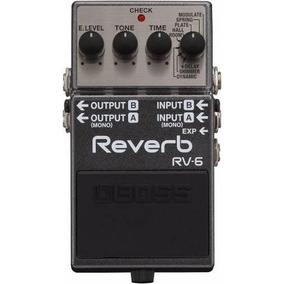 Pedal Reverb Boss Rv-6 + Envío + Garantía