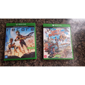 Vendo Game Recore E Sunset Overdrive Sem Uso!!
