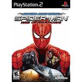 Spider-man La Web De Las Sombras - Playstation 2