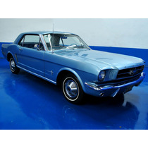 Ford Mustang Coupe 1965 Azul Acero $519,900