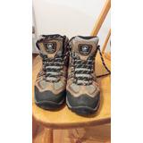 Zapatillas Treking Marca Lippi Mujer O Joven 38 Impermeables