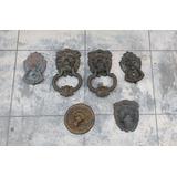 Antiguas Y Originales Aldabas,toca,puertas,bronce