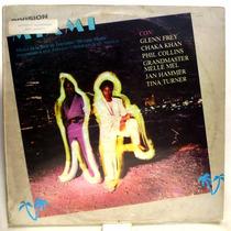 Lp - Division Miami - Jan Hammer Tina Turner Phil Collins