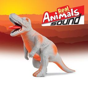 Tiranossauro Rex Com Som Coleção Real Animals 620 - Bee Toys