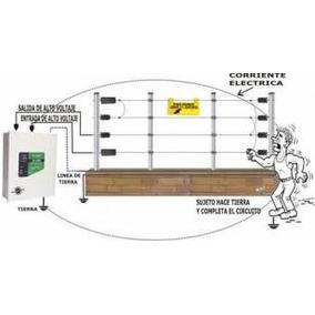 Kit De Cerca Electrica De 10 Mts.