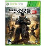 Gears Of War 3 Xbox One X 360 Retrocompatible Fisico Edicion