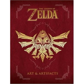 The Legend Of Zelda Art & Artifacts P. Dura Envio Gratis