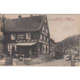 Postal Antigua 1910 Cafe Klein Burg A.d. Wupper N° 32770
