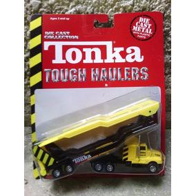 Tonka Camion Gandola Car Carrier Cigueña Kenworth