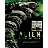 Alien Prometheus 6 Film Boxset Peliculas Blu-ray + Dig Hd