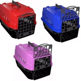 Caixa De Transporte Para Caes E Gatos - Clique Pet