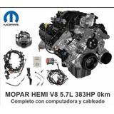 Motor Mopar Hemi Dodge V8 5.7l 6.4l 485hp Completo - Veocho