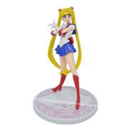 Sailor Moon Figura De Coleccion Con Base