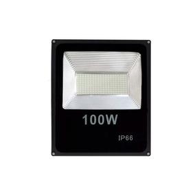 Refletor Led 100w - Holofote Branco Frio Bivolt Prova D
