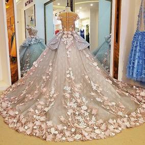 Vestido De Festa Debutante Noiva Formatura Importado Sf01