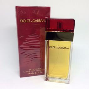 Dolce & Gabbana Vermelho Edt 100ml Feminino   100% Original