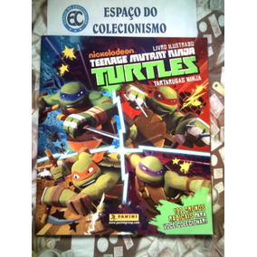 Álbum Figurinhas Tartarugas Ninja 2013 - Completo Para Colar