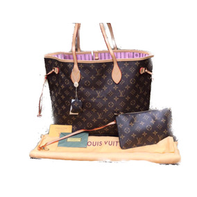 Bolsa Lv Louis Vuitton Para Dama Fondo Rosa Envío Gratis