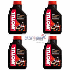 Óleo Motul 4t 7100 20w50 Synthetic 100% Sintético - 4 Litros