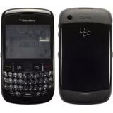 Carcaça Completa Blackberry 8520 Curve Preta
