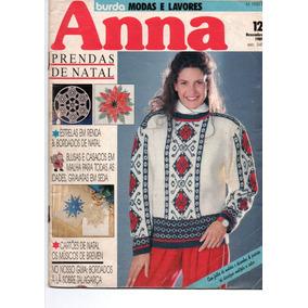 Burda Modas E Lavores Anna Prendas De Natal Ano 1989