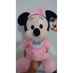 Minnie Baby Pelucia Boneca Disney Kit Com 2 Unidades