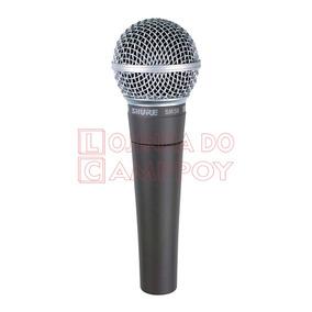 Microfone Shure Sm58 Dinâmico - Lojinha Do Camppoy