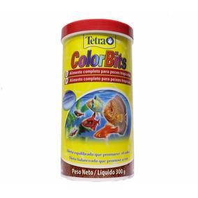 Tetra Color Tropical Granules 300 G Color Bits Fish Ornament