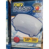 Bomba De Aire Mini Para Acuario Sap 300 Sunny