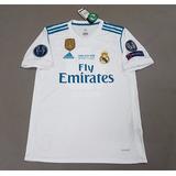 Camisa Especial adidas Real Madrid 13 Comemorativa Champions