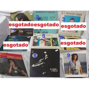 Coleção Lp Vinil Roberto Carlos Discos Avulsos Escolha Foto