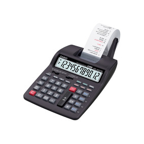 Calculadora Casio C/ Impressora, 12 Dígitos Hr-100tm