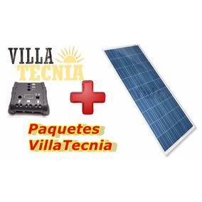 Controlador 20a 12/24v Y 1 Panel Solar 100 Watts