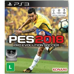 Pes 2018 Português Ps3 Play3 Digital Psn Envio Rápido