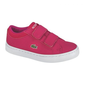 Tenis Niña Casual Lacoste Straightset Lace 316 3 C013