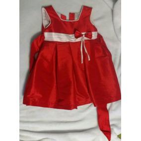 Vestido Rojo Niña Talla 2 Años