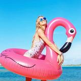 Boia Gigante Flamingo Redonda + Boia Copo Frete Grátis