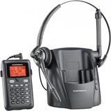 Teléfono Diadema Inalámbrico Plantronics Altavoz Negro \r