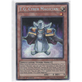 T. G. Cyber Magician Lc5d - Yugioh Cards