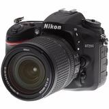 Cámara Nikon D7200 + 18-140 Mm