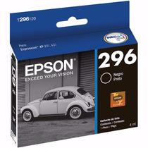 T296120 Cartucho Original Epson Para Xp231 Xp241 Xp431 Preto