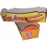 Caixa Para Hot Dog / Cachorro Quente - 100 Unid.
