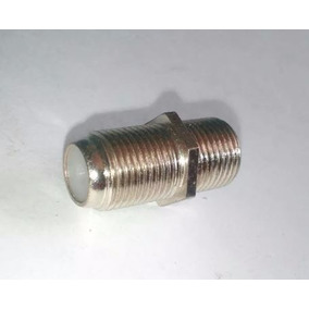 Union Bala F81 Conector Rg6 Empalme Cable Coaxial