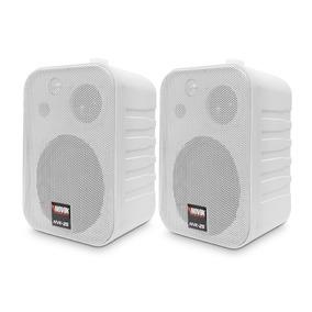 Caixa Acústica Para Som Ambiente Novik Nvk-25 Branca - 50w