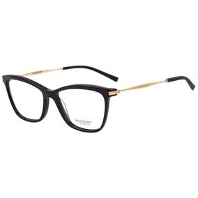 13289aeab3522 Armação Óculos De Grau Feminino - Ana Hickmann Ah6254 A01 55