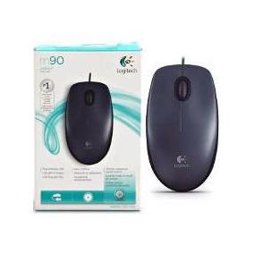 Só Para São Paulo - Mouse Logitech Usb 2.0 M90 - Com Nfe
