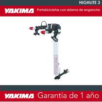 Portabicicletas Yakima Highlite 3 Para Tres Bicicletas