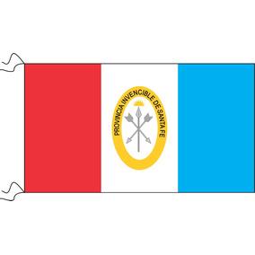 Bandera Santa Fe 90 X 150cm Oficial Refuerzo Y Sogas