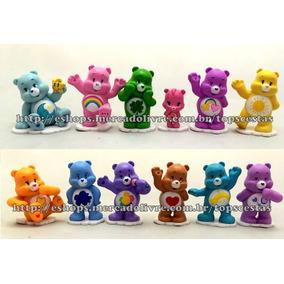 Coleção 12 Miniaturas Bonecos Ursos Ursinhos Carinhosos