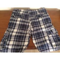 Bermuda Short Pantalon Pull And Bear Talla 32 Nunca Usado